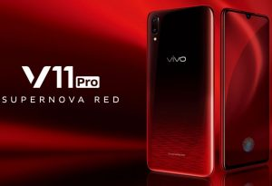 Vivo V11 Pro Supernova Red India Launch
