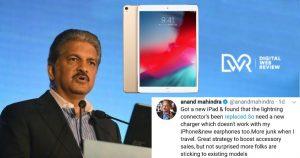 Anand Mahindra Angry Apple Ipad Pro