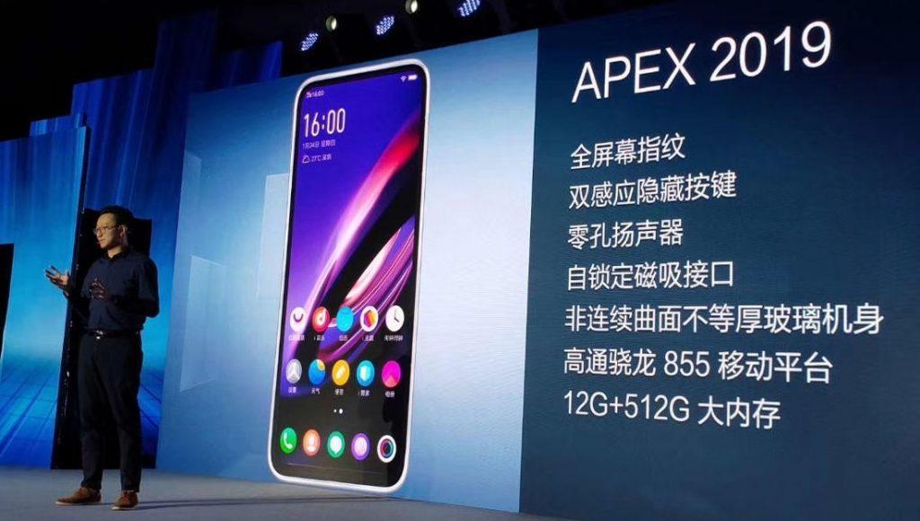 Vivo APEX 2019 Announced – 12GB RAM, 5G Support, Full-screen
