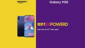 Samsung Galaxy M30 Launch Date