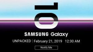 Samsung Galaxy S10 Flipkart Banner