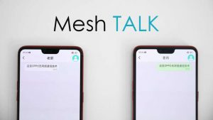 Oppo Meshtalk Technology