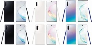 Galaxy Note10 Color Options