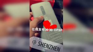 Oneplus 8 Pro Hands On Photo Leak