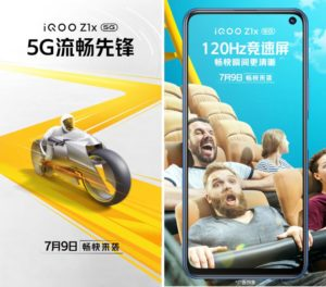 Iqoo Z1x 5g Launch Date