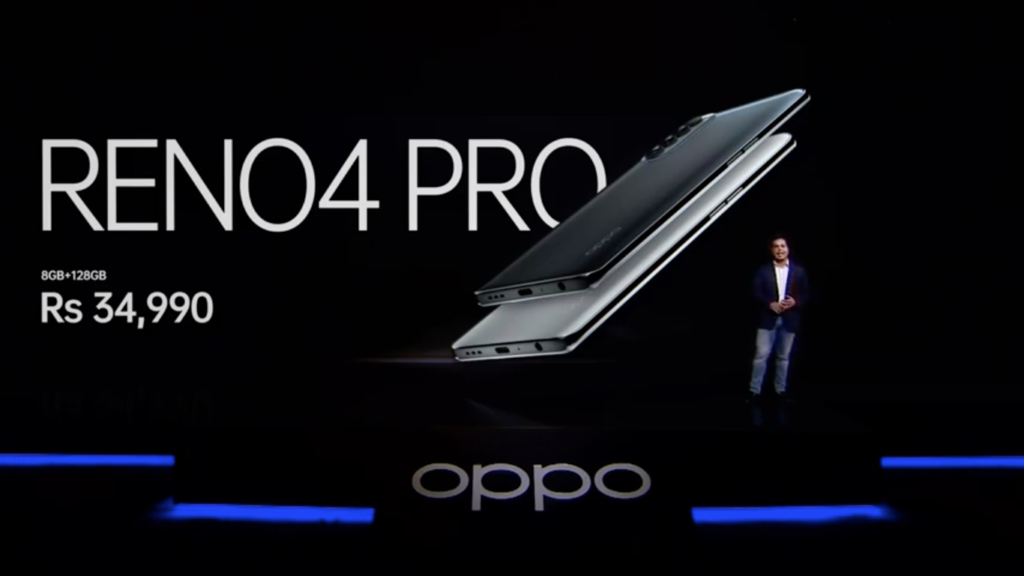 Oppo Reno4 Pro Launched In India