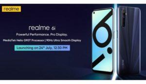 Realme 6i India Launch