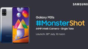 Samsung Galaxy M31s Launch Amazon