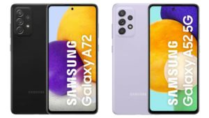 Amsung Galaxy A72, Galaxy A52 Launched In India