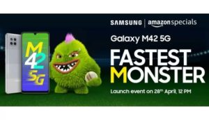 Samsung Galaxy M42 5g Launching In India On April 28