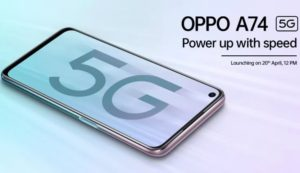 Oppo A74 5g India Launch