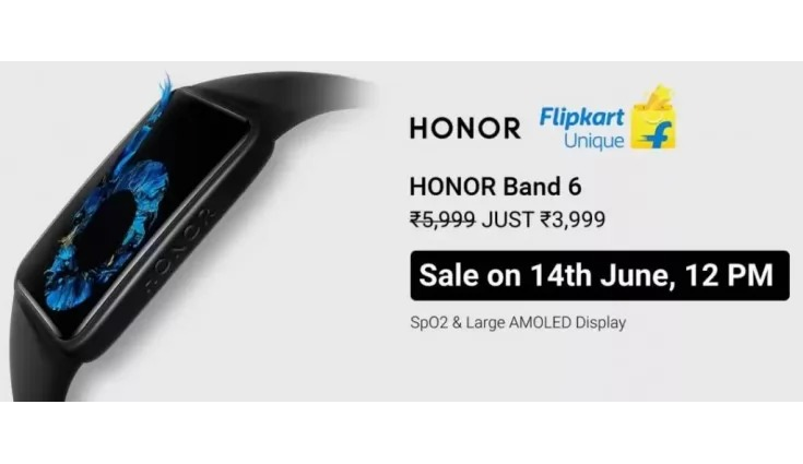 Honor Band 6 Launched In India First Sale