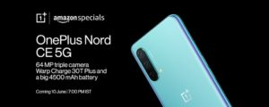 Oneplus Nord Ce 5g Poster