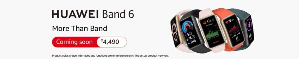 Huawei Band 6 Price In India