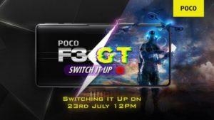 Poco F3 Gt Launch India