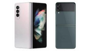 Galaxy Z Fold Flip 3 Specs Render