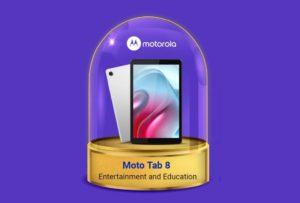 Moto Tab 8 Teaser